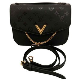 Louis Vuitton-Handbags-Black