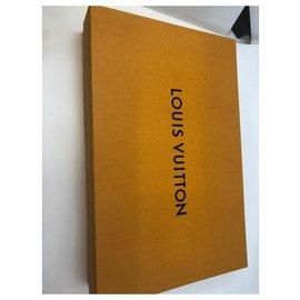 Louis Vuitton-Schal-Anthrazitgrau