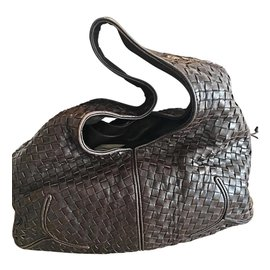 Bottega Veneta-Bags-Chocolate