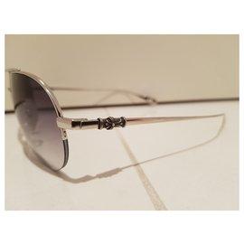 Chrome Hearts-Des lunettes de soleil-Argenté