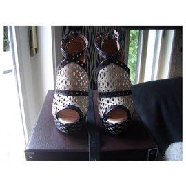 Alaïa-sandals-Multiple colors