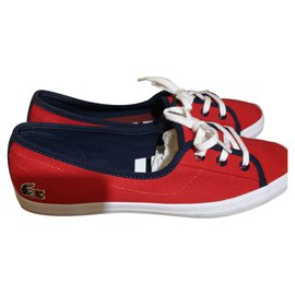 Lacoste-ZIANE CHUNKY-Red