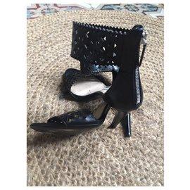 Prada-Sandals-Black