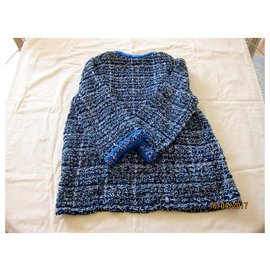 Chanel-Knitwear-Blue