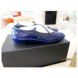 Chanel-Ballet flats-Blue