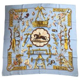 Hermès-Copeaux-Bleu clair