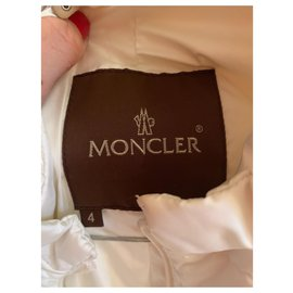 Moncler-Sleeveless down jacket-Eggshell