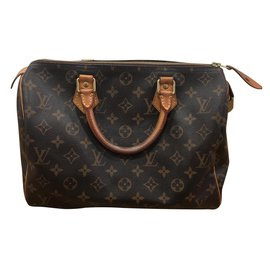 Louis Vuitton-Speedy monogram-Brown
