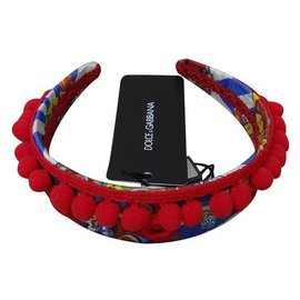 Dolce & Gabbana-Hair accessories-Red,Blue,Multiple colors