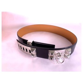 Hermès-dog collar-Black