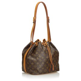 Louis Vuitton-Louis Vuitton Brown Monogram Petit Noe-Brown