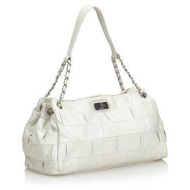 Chanel-Chanel Gray Reissue Lambskin Shoulder Bag-Other,Grey