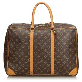 Louis Vuitton-Louis Vuitton Brown Monogram Sirius 45-Brown