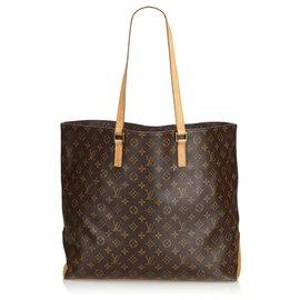 Louis Vuitton-Louis Vuitton Cabas Alto Monogram Marron-Marron
