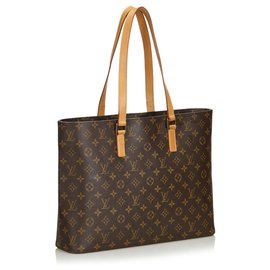 Louis Vuitton-Louis Vuitton Brown Monogram Luco Tote-Brown