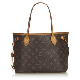 Louis Vuitton-Louis Vuitton Brown Monogram Neverfull PM-Brown