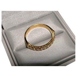 inconnue-Halbrunde Diamanten der Allianz 0.33 Cts-Golden