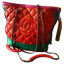 Chanel-Hand bags-Red