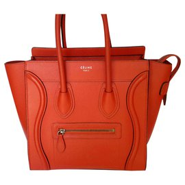 Céline-MICRO LUGGAGE-Red