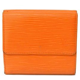 Louis Vuitton-Porte monnaie louis Vuitton-Orange