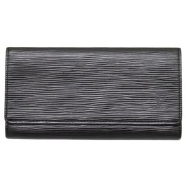 Louis Vuitton-Louis Vuitton Long Wallet-Black