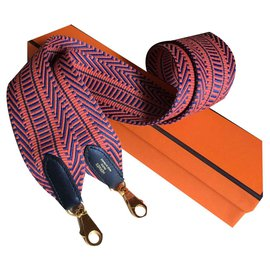 Hermès-HERMES bandeau strap Caval and Swift calf, New-Multiple colors