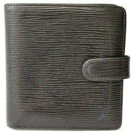 Louis Vuitton-Louis Vuitton Bifold Wallet-Noir
