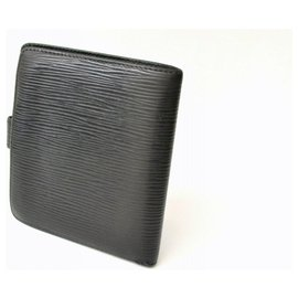 Louis Vuitton-Louis Vuitton Bifold Wallet-Black