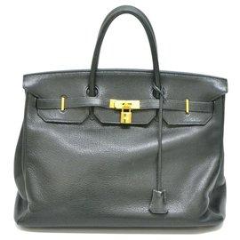 Hermès-HERMES BIRKIN 40-Noir