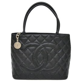Chanel-Chanel Médaillon-Schwarz