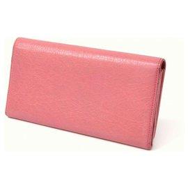Balenciaga-Balenciaga City Wallet-Pink