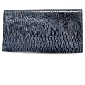 Gucci-Gucci long wallet-Blue