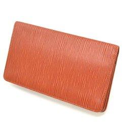 Louis Vuitton-Louis Vuitton Bifold Wallet-Marron