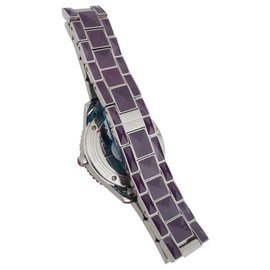 Dior-DIOR CHRISTAL DIAMONDS WATCH-Purple