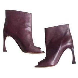 Christian Dior-Christian Dior Bootees-Purple