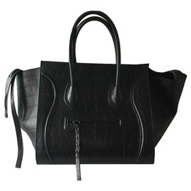 Céline-Phantom luggage-Black