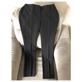 Chanel-Pantalons, leggings-Noir