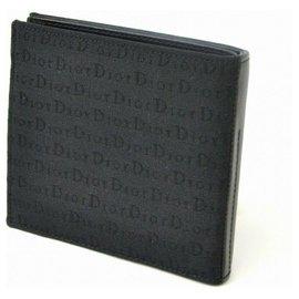 Dior-Dior Brieftasche-Schwarz