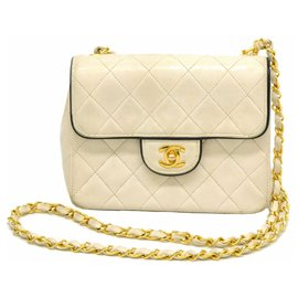 Chanel-Chanel Classic Flap Bag Petit-Blanc
