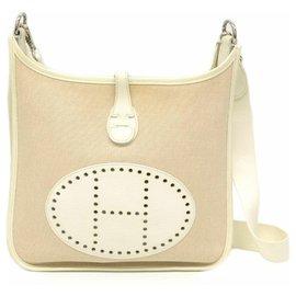 Hermès-Hermès Evelyne PM 29-White