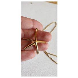 Tiffany & Co-Étoile de mer et or jaune 750/000-Doré
