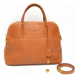 Hermès-Hermes Bolide 35-Marron