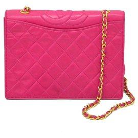 Chanel-Sac à main Chanel-Rose