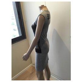 Philipp Plein-Dresses-Grey