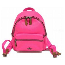 Coach-Coach Backpack-Pink