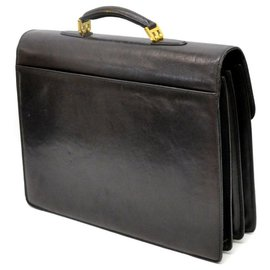 Bally-Bally Briefcase-Black