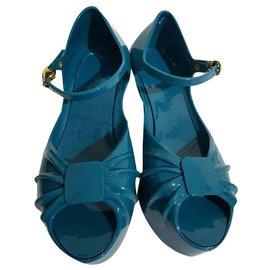 Moschino-Sandales-Vert