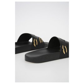 Givenchy-GIVENCHY LEATHER slipper-Black