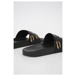 Givenchy-GIVENCHY EN CUIR pantoufle-Noir