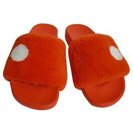 Marc by Marc Jacobs-Sandals-Orange,Coral